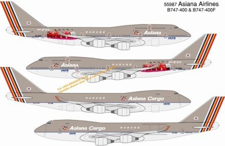 dragon-models-asiana-airlines-b747-400-hl7423-and-b747-400f-cargo-hl7436-double-pack-diecast-aircraf