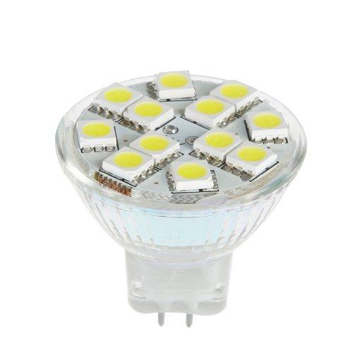 Chicho 4X Mr11 Gu4 12 Led 2W 12V Led Bulb Light Lamp White