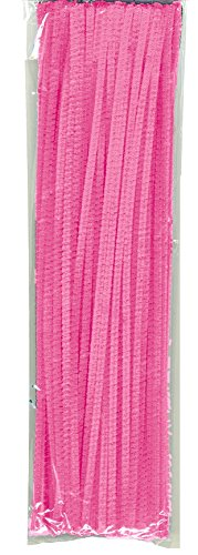 "Creativity Street Chenille Stetems/Pipe Cleaners 12"" x 6mm 100-PiecePink"