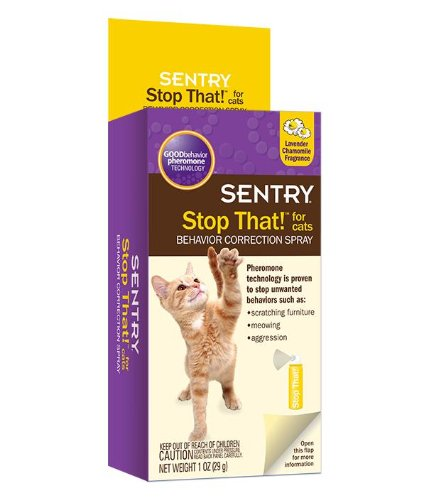 SENTRY Stop That! For Cats, 1 oz (Sentry Spray compare prices)