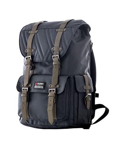 """Olympia Hopkins 18"""" Laptop Backpack, Charcoal Gray"""