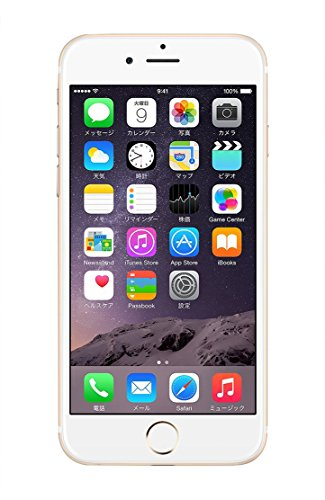 Apple iPhone 6 Plus 16GB ゴールド 【docomo 白ロム】MGAA2J