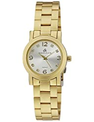 Daniel Klein Analog Silver Dial Women's Watch - DK10416-3