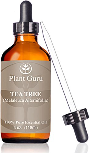 ★ Tea Tree Oil ★HUGE 4 oz ★Essential/ Pharmaceutical/Therapeutic Grade ★ 100% Pure & Natural ★ With Glass Dropper