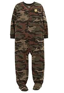 Amazon Com Carter S Big Boys Quot Camo Quot Fleece Footed Blanket
