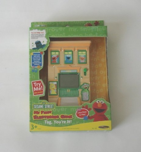 Sesame Street My First Electronic Learning Game Tag, You're It