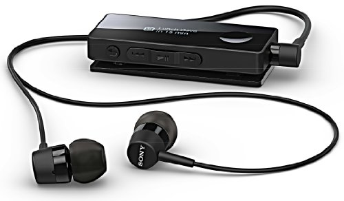 Sony SBH-50 Black NFC Wireless Bluetooth Handsfree Stereo Headset Sony Bluetooth Headsets autotags B00CZC8Q34