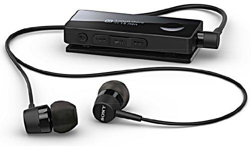 Sony Sbh-50 Black Nfc Wireless Bluetooth Handsfree Stereo Headset