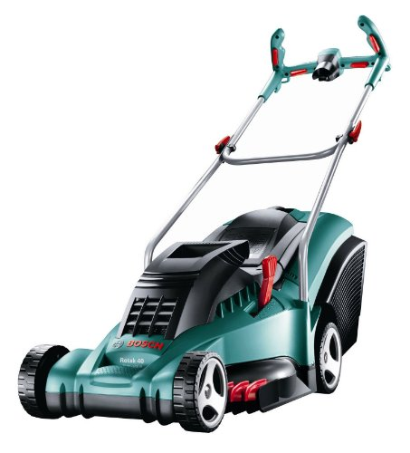 Bosch Rotak 40 Ergoflex Electric Rotary Lawnmower (40 cm Cutting Width)
