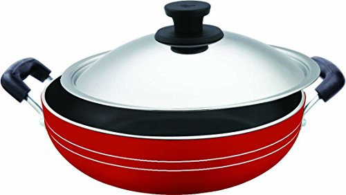 Pigeon Induction Base Non-Stick Kadai-200 IB with Lid/Dia 200mm (Pigeon Induction compare prices)