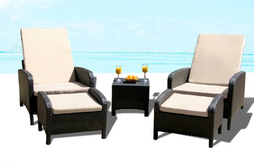 Outdoor Patio Wicker Furniture Pool Lounge All