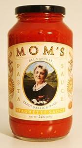 Mom's Garlic & Basil Spaghetti Sauce