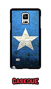 Caseque Somalia Flag Art Back Shell Case Cover For Samsung Galaxy Note 4