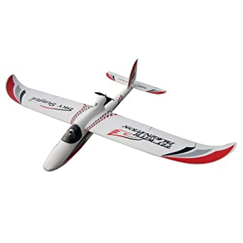 J-Power Sky Surfer 4 Channel RC Airplane Glider RTF - White