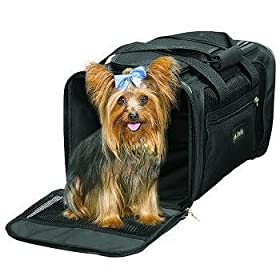 Sherpa Pet Delta Air Lines Deluxe Pet Carrier Color:Black