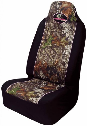 Mossy oak infinity camo pink car truck suv universal fit pull over bucket seat covers pair