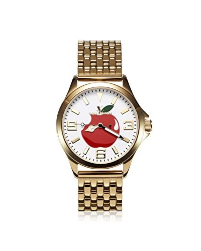 Toy Watch Women's CRT04WH Cruise Graffiti Gold-Tone Stainless Steel Watch