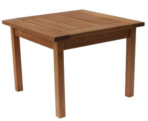 Amazonia Milano Side Eucalyptus Table photo
