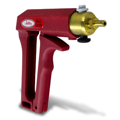 41xMW53uwNL. SL500  LeLuv MAXI Hand Operated Red Pistol Grip Brass Vacuum Pump for Cylinders or Cups