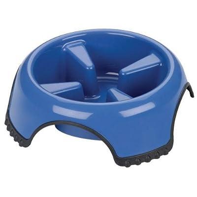 JW Pet SkidStop Slow Feed Pet Bowl, Large