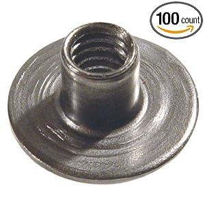 20 Thd., Steel Weld Nuts, Round Base (100 Per Box): Amazon.com