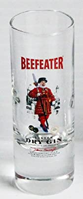Beefeater Dry Gin Promotional 2oz Shot Glass (Glass)