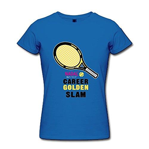 Enocho Women'S Nadal Career Golden Slam T-Shirt Xl