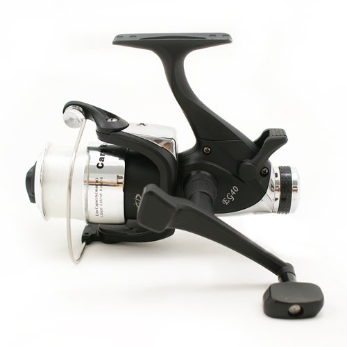 EG40 2BB CARP RUNNER fishing REEL WITH 10LB fishing LINE