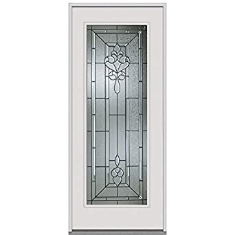 National door company z000950r inswing entry door rehung right hand fontainebleau decorative for Exterior door replacement company