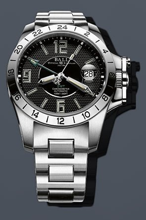 Ball Engineer Hydrocarbon Magnate Chrono Auto SS GM2098C-SCAJ-BK by Ball