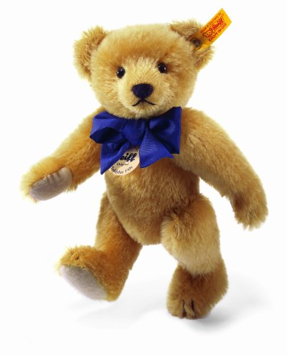 Steiff 25cm Classic 1909 Jointed Teddy Bear with Squeaker (Brass)