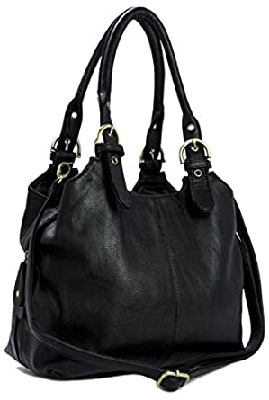 Black Long Strap Shoulder Bag 121