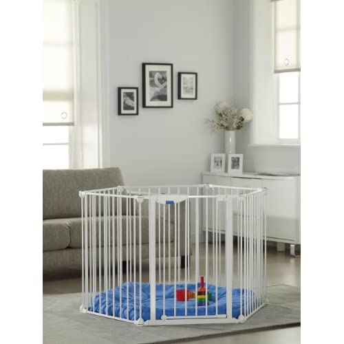 Safe and Secure Metal Playpen