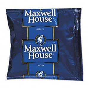 Maxwell House 866150 Coffee, Regular Ground, 1 1/2 oz Pack, 42/Carton