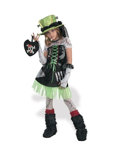 Disguise Inc Girls Monster Bride (Green) Child Costume