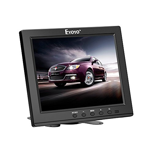 Eyoyo-8-Zoll-TFT-LCD-HD-Monitor-Farbbildschirm-mit-VGA-HDMI-BNC-AV-Funktion-Fr-Auto-DSLR-PC-DVD-Car-Backup-Kamera-S801H