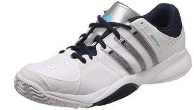 adidas Ambition Vii Stripes, Chaussure de tennis homme - Blanc (Blanc/argm t/navcol), 40 EU