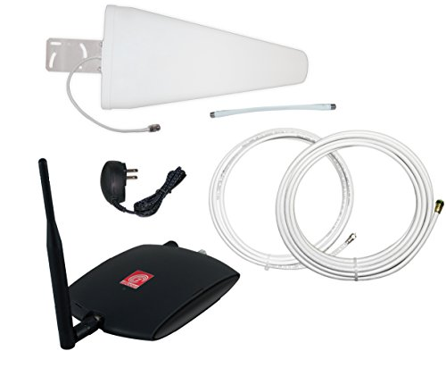 zBoost ZB575X-V TRIO SOHO Xtreme Tri-Band Verizon 4G Cell Phone Signal Booster, up to 5,500 sq. ft. (Iphone Service Booster For Car compare prices)