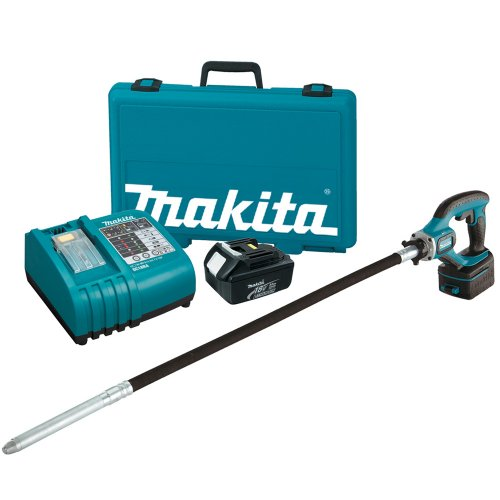 Makita BVR450 18-Volt LXT Lithium-Ion Cordless 4-Foot Concrete Vibrator Kit