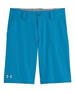 Under Armour Big Boys' UA Forged Golf Shorts YXS PIRATE BLUE