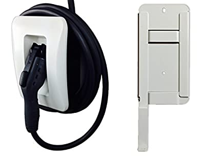 Additional Holster and Wall Mount Bracket for 30A EVoCharge EVSE, EV Charger, Wall Mount (Cable and Connector Not Included)