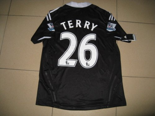 08-09 CHELSEA AWAY JERSEY TERRY + FREE SHORT (SIZE XL)