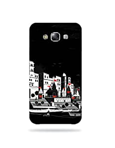 Samsung Galaxy E7 Artist Illustrated Printed Case Cover / allluna illustrated and Imported quality mobile case cover for Samsung Galaxy E7 (MKD-5001)