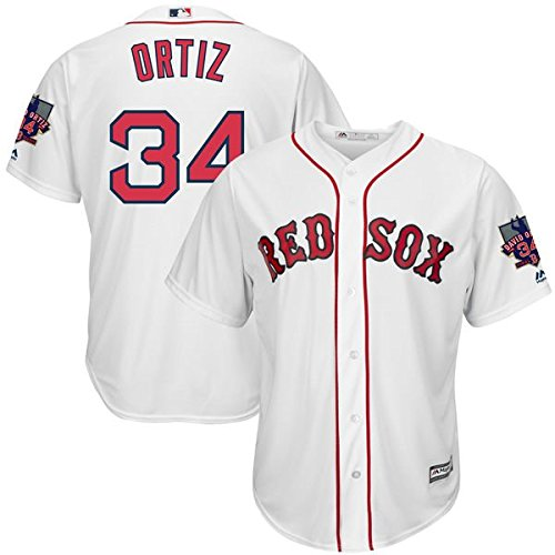 David Ortiz #34 MLB Men's Jersey