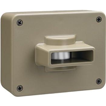 Chamberlain CWPIR Weatherproof Outdoor/Driveway Wireless Motion Alarm and Alert System Add-On Sensor, Includes 1 Sensor