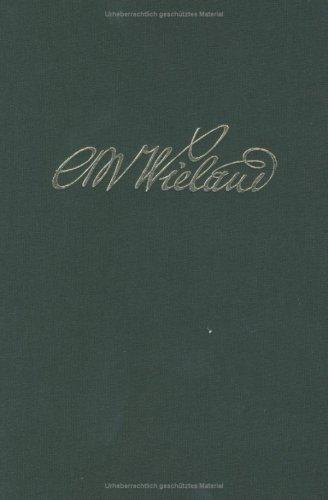 Wielands Briefwechsel: Band 17.2: Briefe Januar 1806 - September 1809. Anmerkungen