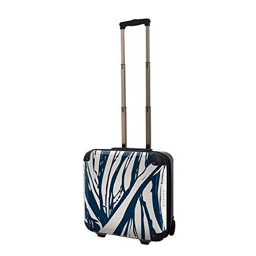 キャラート アートスーツケース ベーシック ソフィスティ(ネイビー) ジッパー2輪 機内持込 CRB01-035F