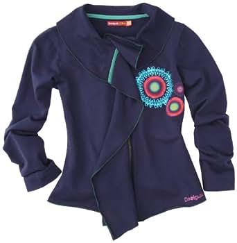Desigual - agua - sweat-shirt - fille - bleu (5116) - 5/6