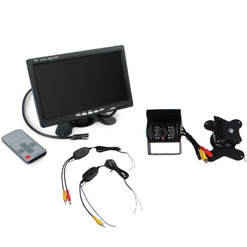 Agptek® 7''Lcd Universal Mount Monitor With Rearview Night Vision Camera