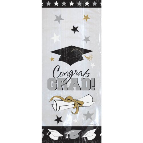 Graduation Congrats Grad Cello Bag-20 bags